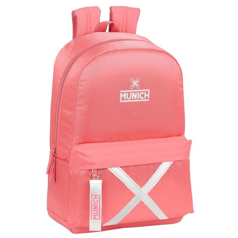 Mochila Munich Coral adaptable 46cm