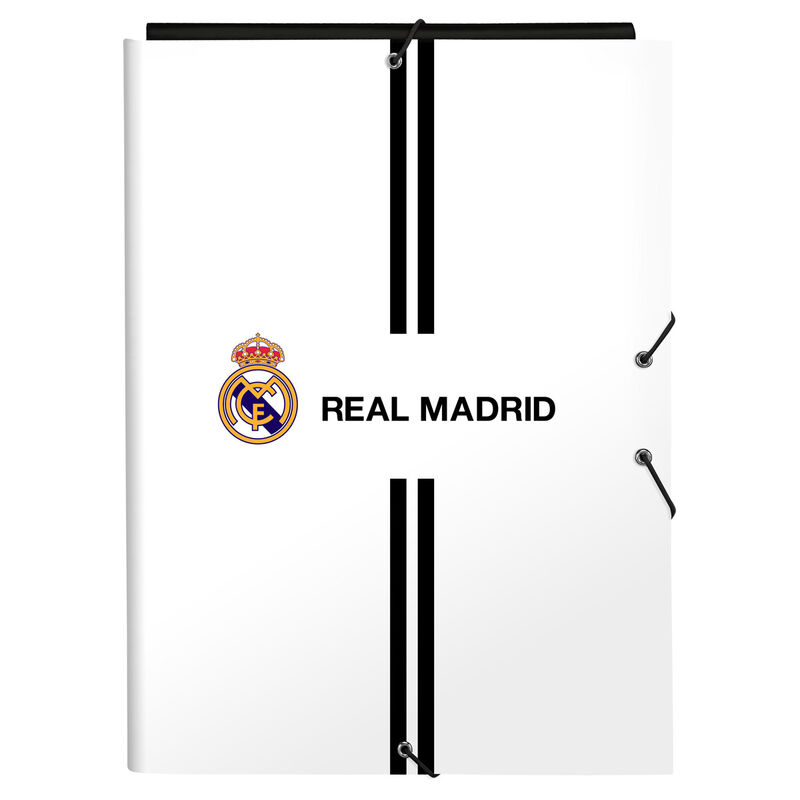 Carpeta A4 Real Madrid solapas 8412688391103