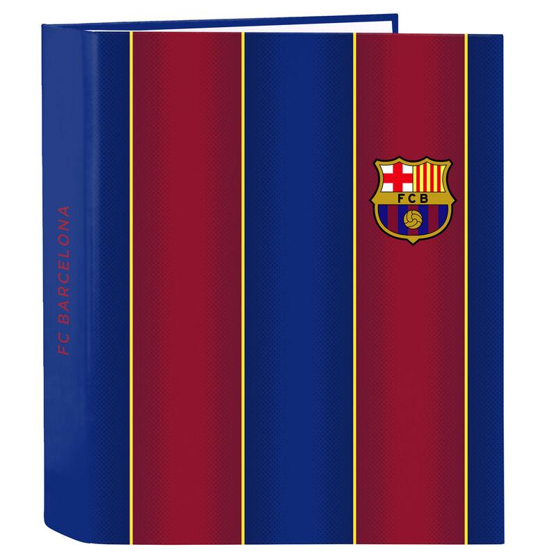Carpeta A4 F.C. Barcelona anillas lomo ancho 8412688387236
