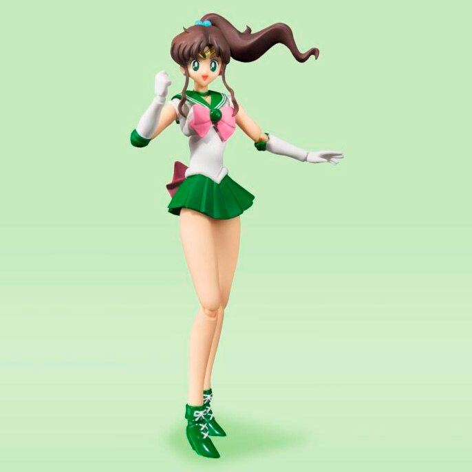 Figura Sailor Jupiter Animation Color Edition Sailor Moon 14cm 4573102596017