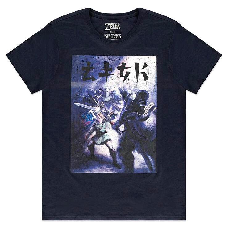 Camiseta Fighting Zelda Nintendo 8718526326635