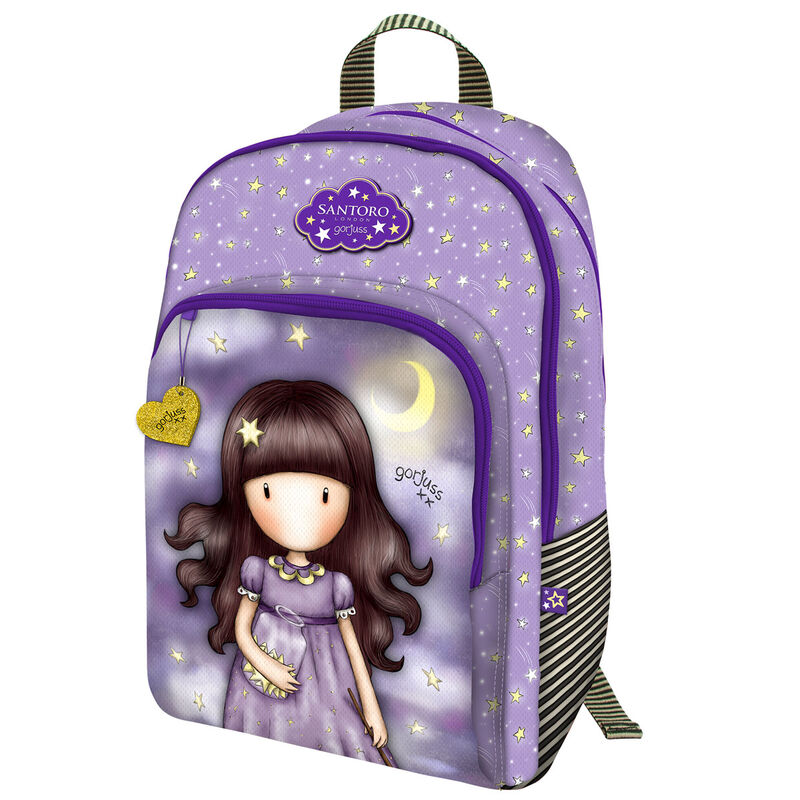 Mochila Gorjuss Catch A Falling Star adaptable a carro 45cm