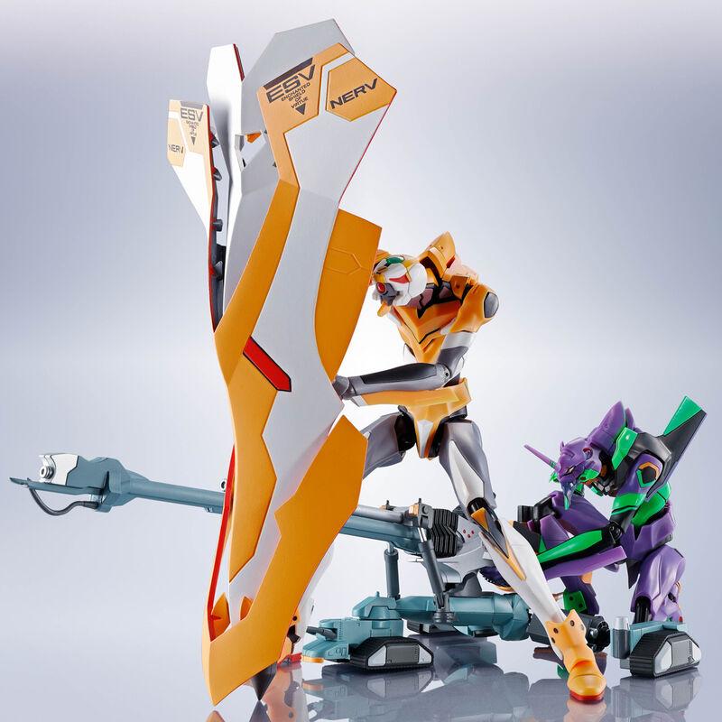 Accesorios Robot Spirits Operation Yashima Positron Cannon + ESV + Type G Component Evangelion
