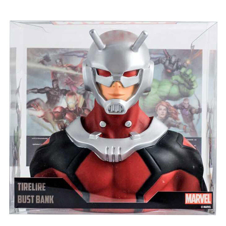 Busto hucha Ant-Man Marvel 20cm