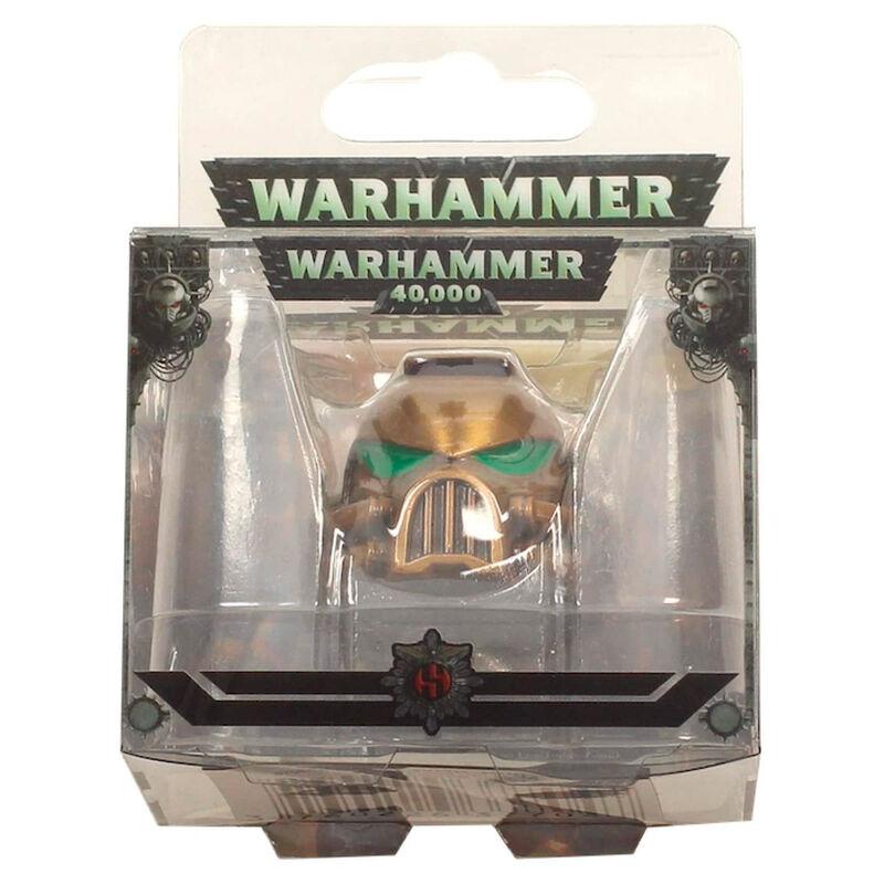 Llavero metal Space Marine MKVII Helmet Gold Warhammer 40K 3760226377047