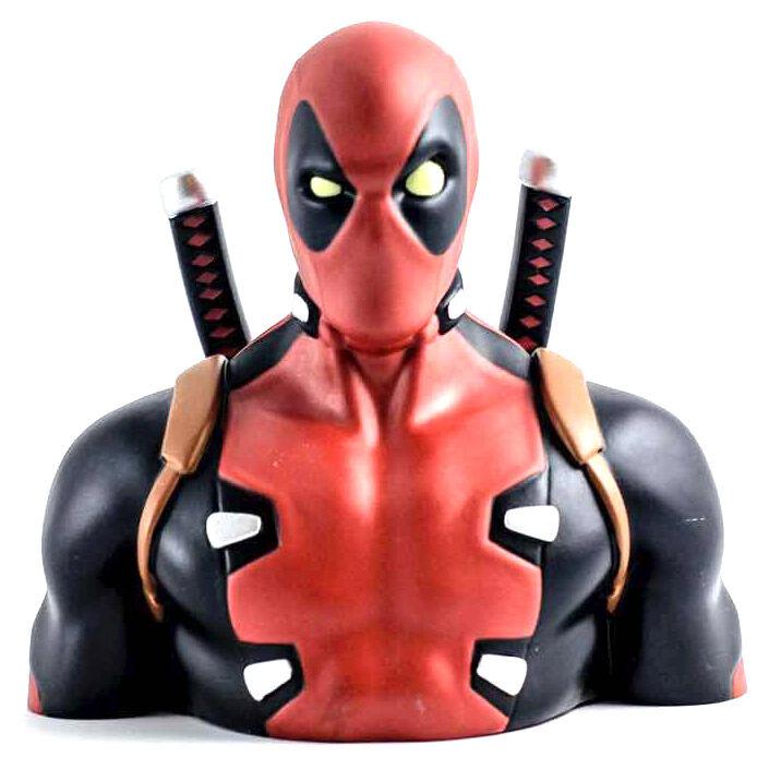 Busto hucha Deadpool Marvel 20cm 3760226374244
