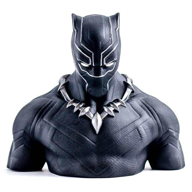 Busto hucha Black Panther Marvel 20cm 3760226375029