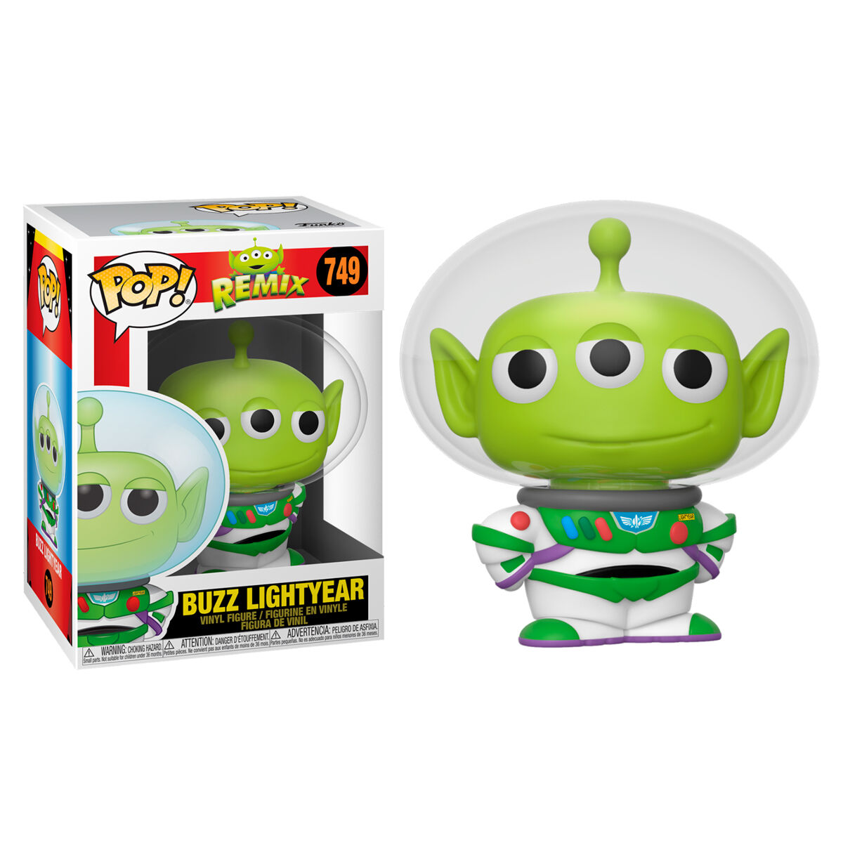Figura POP Disney Pixar Alien as Buzz 889698483612