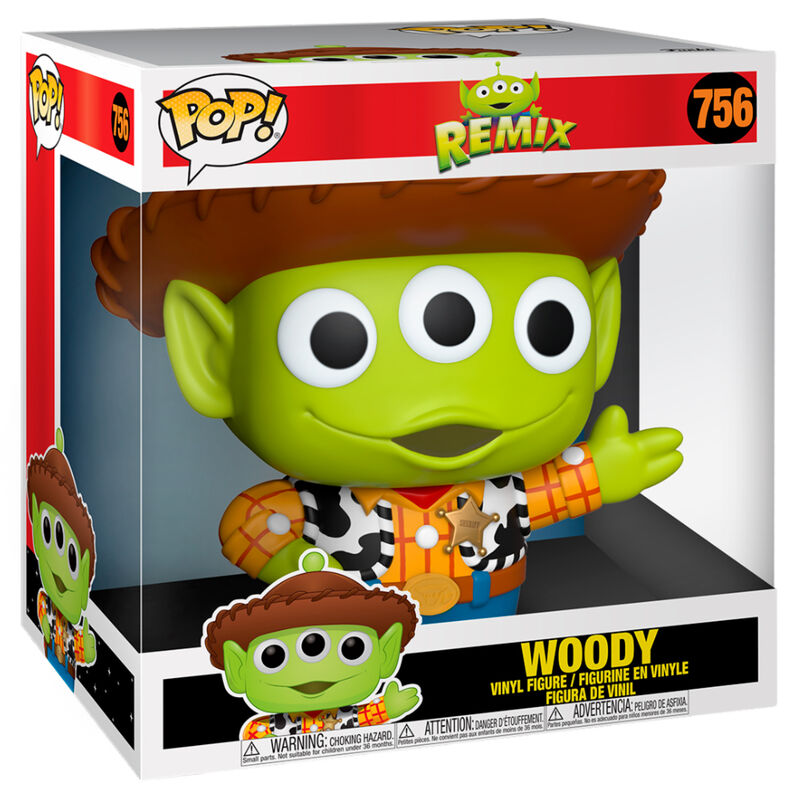 Funko POP o Figura POP Disney Pixar Alien Remix Woody 25cm (2)