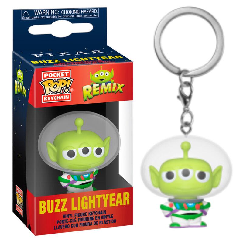 Llavero Pocket POP Disney Pixar Alien Remix Buzz 889698483551