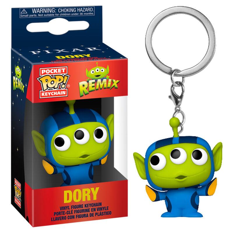 Llavero Pocket POP Disney Pixar Alien Remix Dory 889698483582