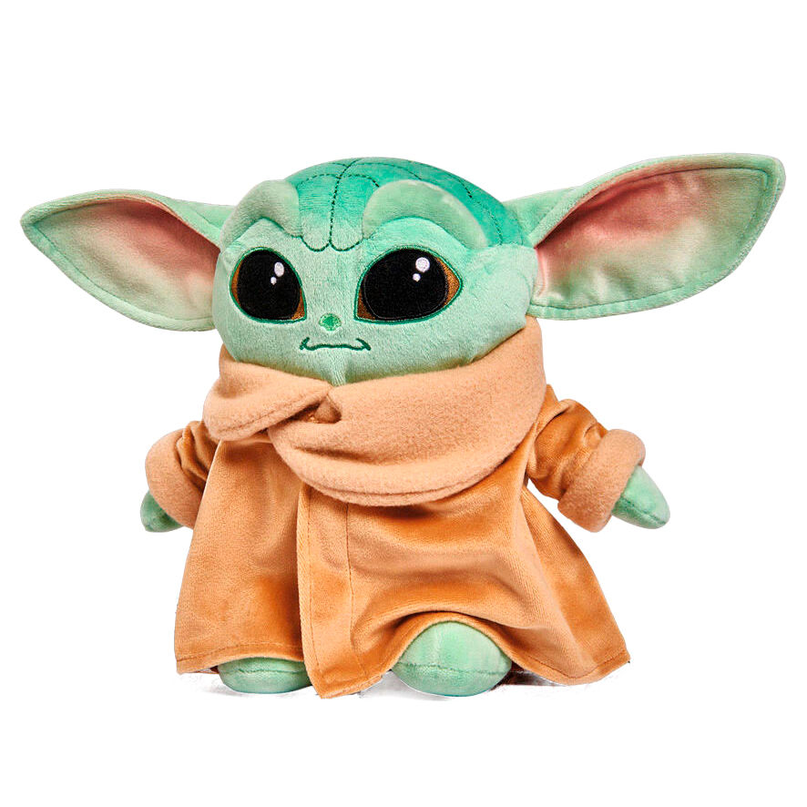 Peluche Baby Baby Yoda (The Child) Mandalorian Star Wars soft 25cm