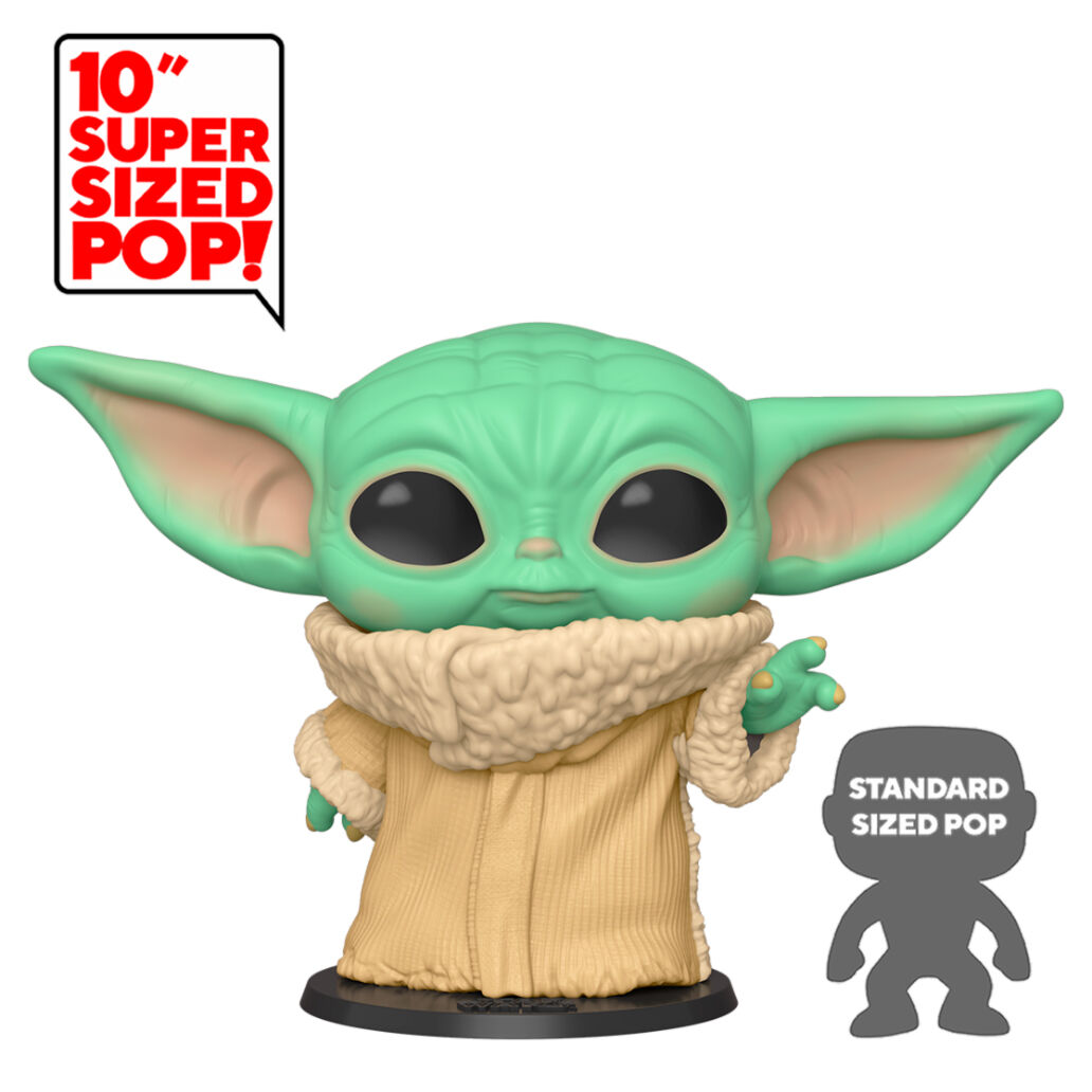 Funko POP o Figura POP Star Wars Mandalorian Baby Yoda (The Child) 25cm
