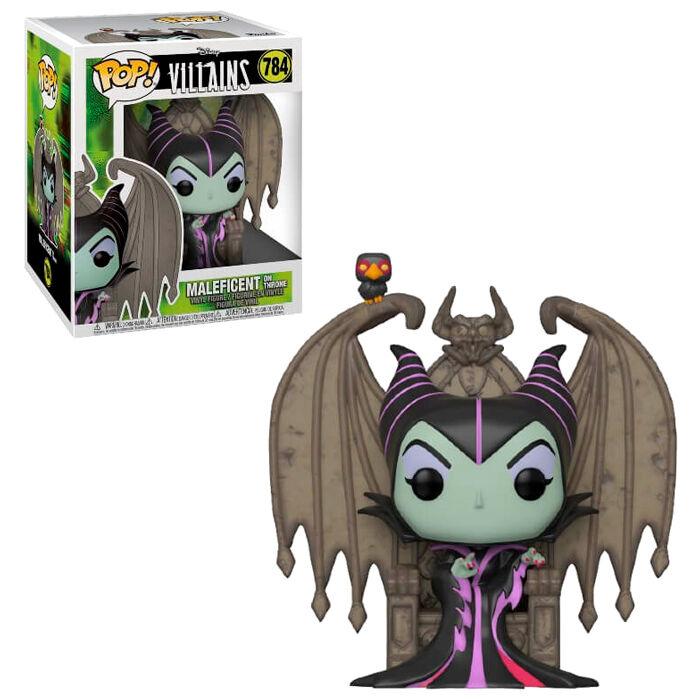 Figura POP Disney Villains Maleficent with Throne 889698498173