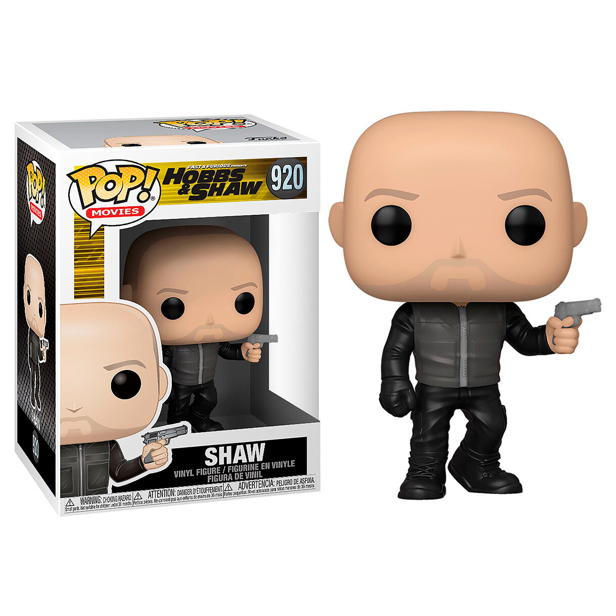 Figura POP Fast & Furious Presents Hobbs & Shaw Shaw 889698477529