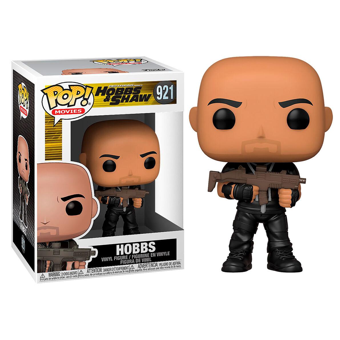 Figura POP Fast & Furious Hobbs & Shaw Hobbs 889698477536