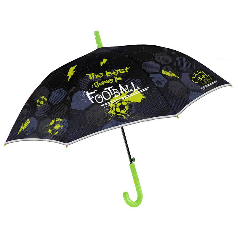 Paraguas automatico Football 48cm 18015831155798