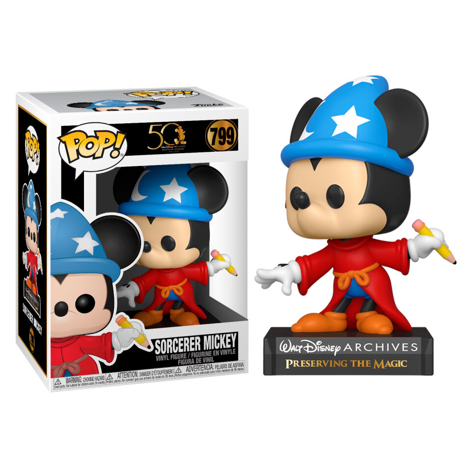 Funko POP o Figura POP Disney Archives Sorcerer Mickey