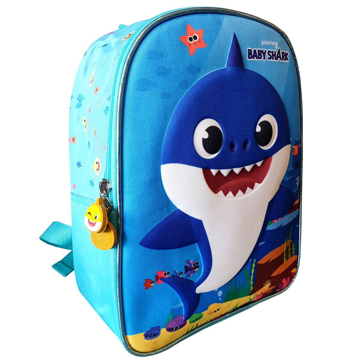 Mochila Daddy Shark Baby Shark 28cm 8426842083087