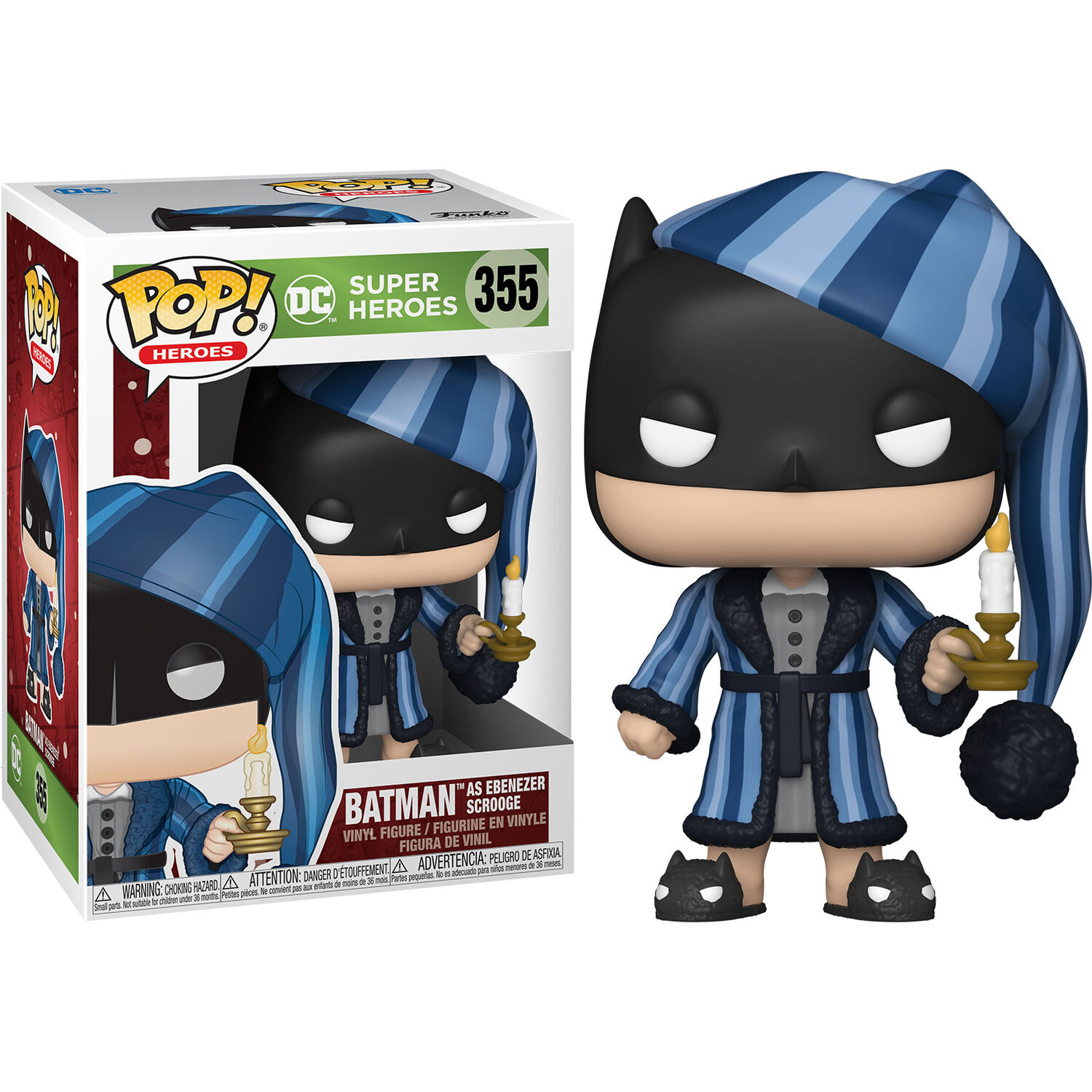 Funko POP o Figura POP DC Comics Holiday Scrooge Batman