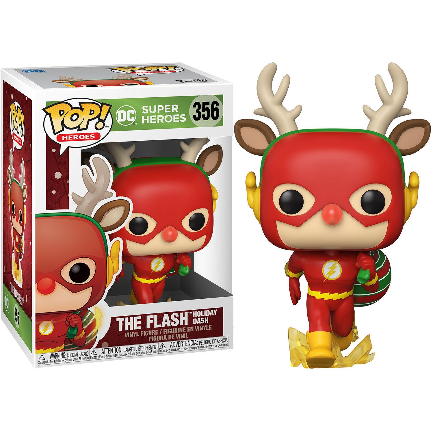Figura POP DC Holiday Rudolph Flash 889698506540