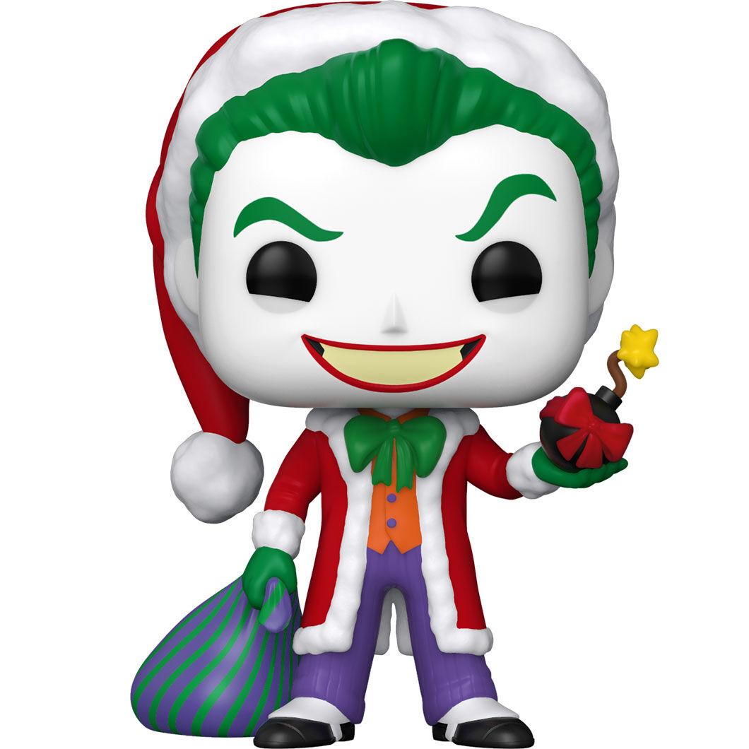 Funko POP o Figura POP DC Comics Holiday Santa Joker (2)