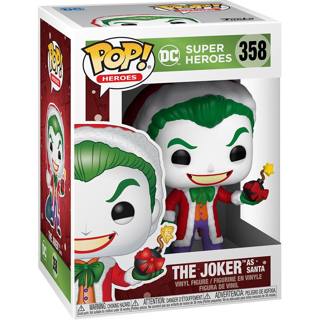 Funko POP o Figura POP DC Comics Holiday Santa Joker (3)