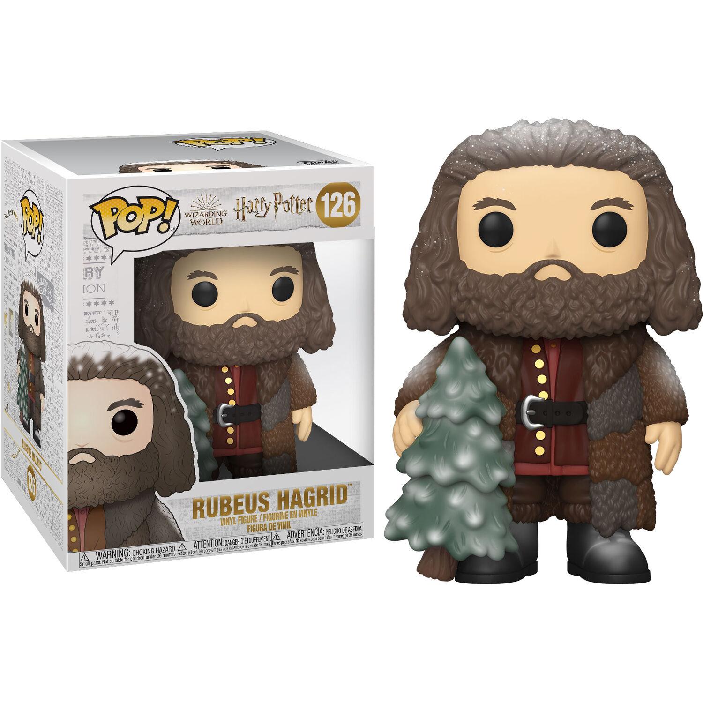 Funko POP o Figura POP Harry Potter Hagrid Navidad 15cm