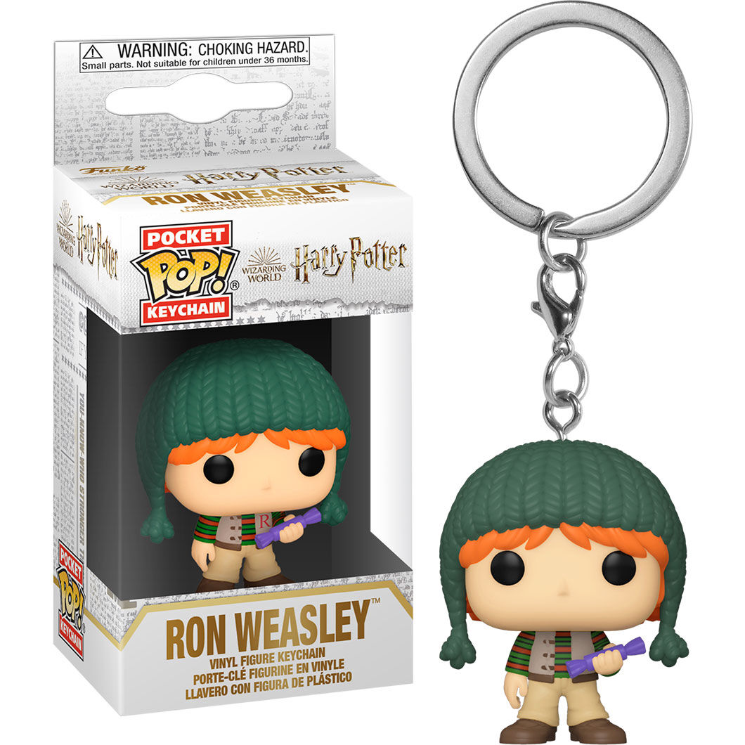Llavero Pocket Harry Potter Holiday Ron Weasley