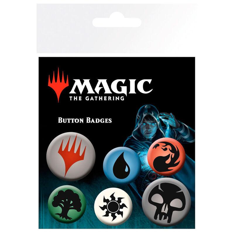 Set chapas Symbols Magic The Gathering Mana 5028486425303