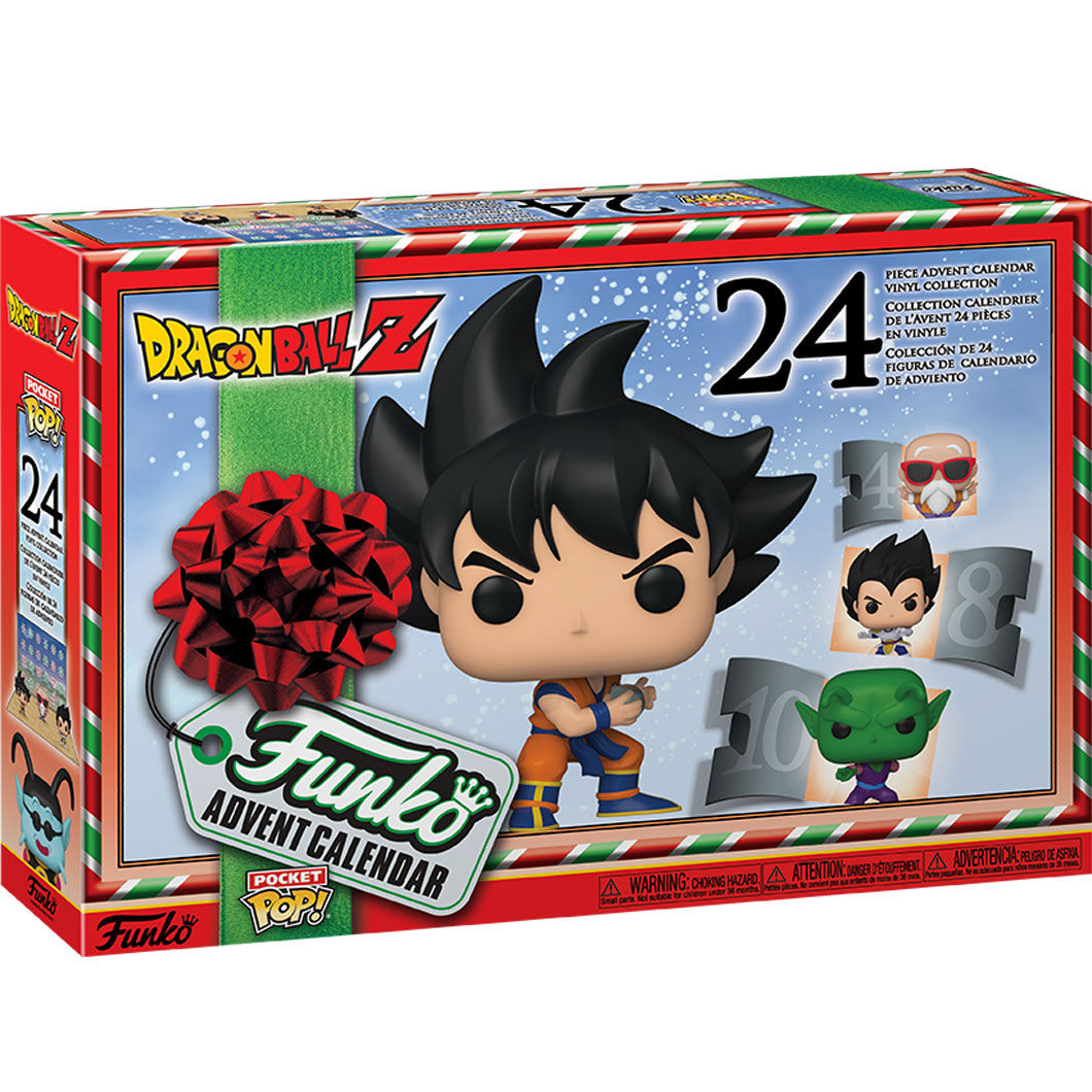 Calendario Adviento Dragon Ball Z Funko POP