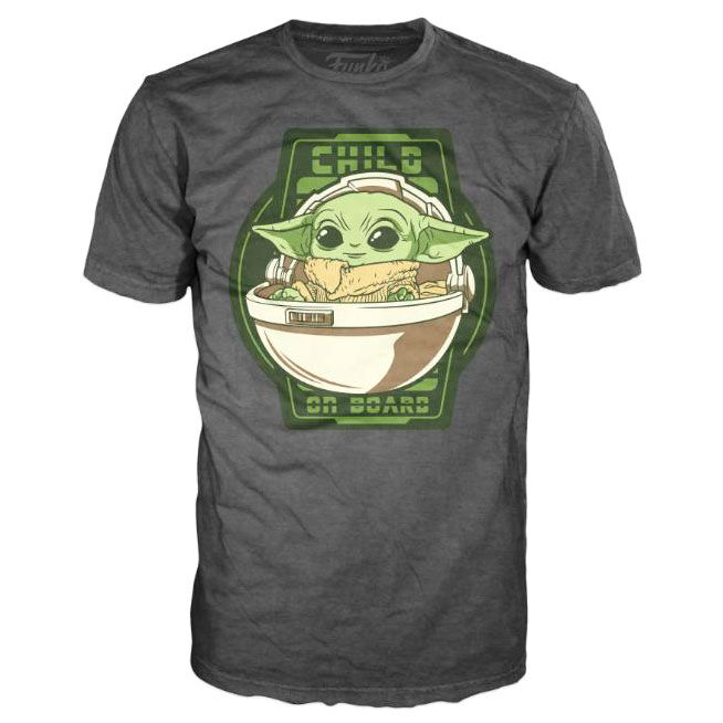 Camiseta Yoda The Child On Board Mandalorian Star Wars 889698510455