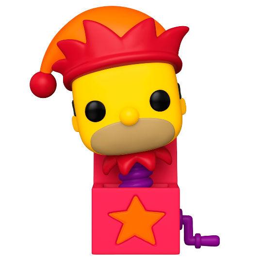 Funko POP o Figura POP The Simpsons Homer Jack-In-The-Box