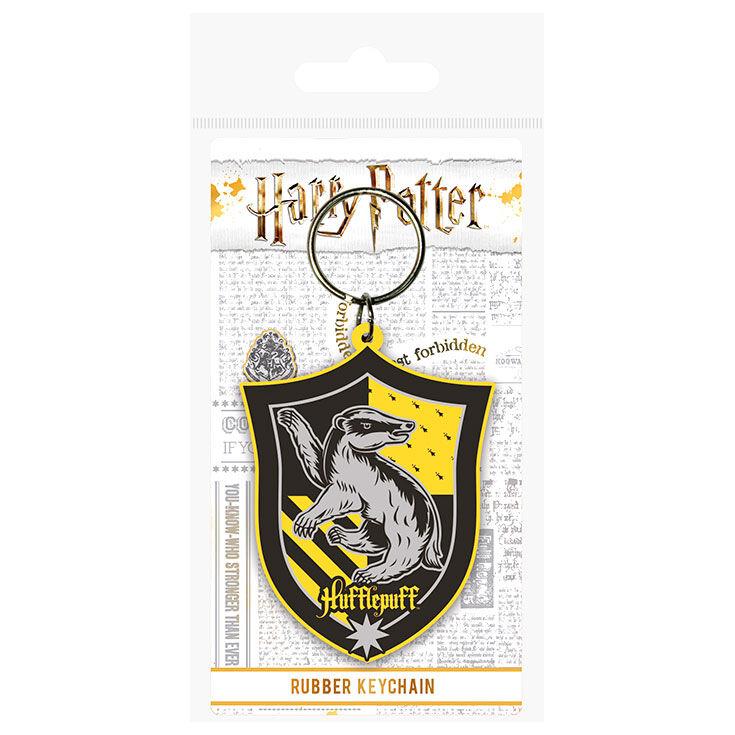 Llavero rubber Hufflepuff Harry Potter 5050293386942