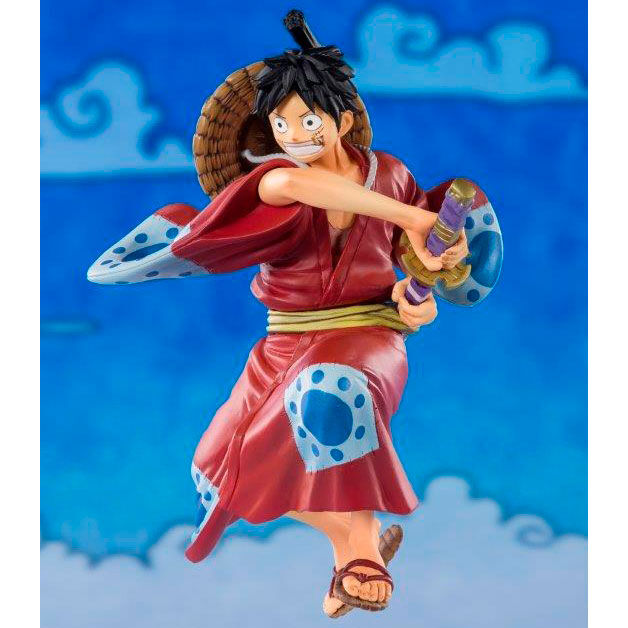 Figura Monkey D. Luffy Luffytaro One Piece 14cm