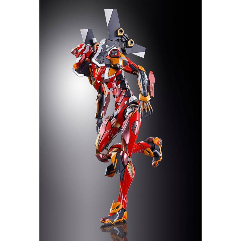 Figura Diecast Metal Build EVA-02 Production Model EVA 2020 Ver. Neon Genesis Evangelion 22cm