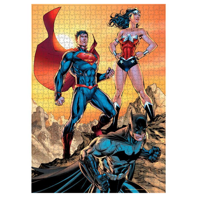 Puzzle Liga de la Justicia DC Comics 1000pzs 8435450241086