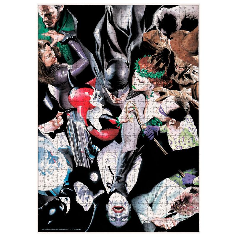 Puzzle Batman Enemigos DC Comics 1000pzs 8435450241116