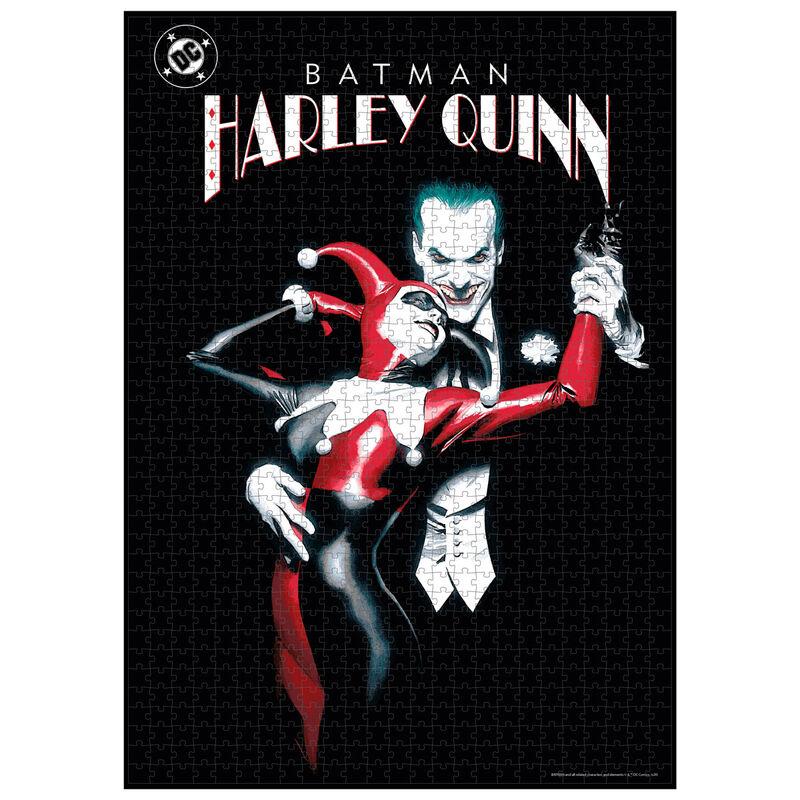 Puzzle Joker and Harley Quinn DC Comics 1000pzs 8435450241147