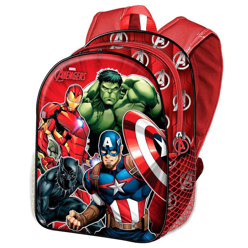Mochila 3D Vengadores Avengers Marvel 31cm 8445118015959