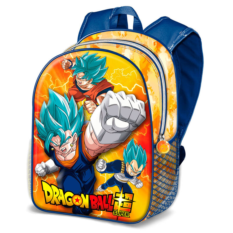 Mochila 3D Dragon Ball Super 31cm 8445118015522