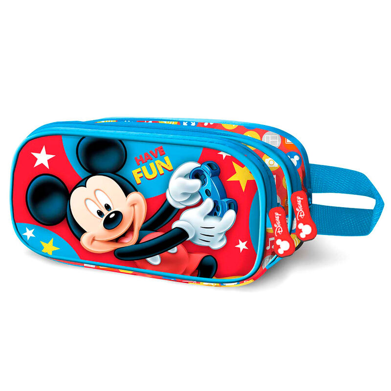 Portatodo 3D Mickey Disney doble