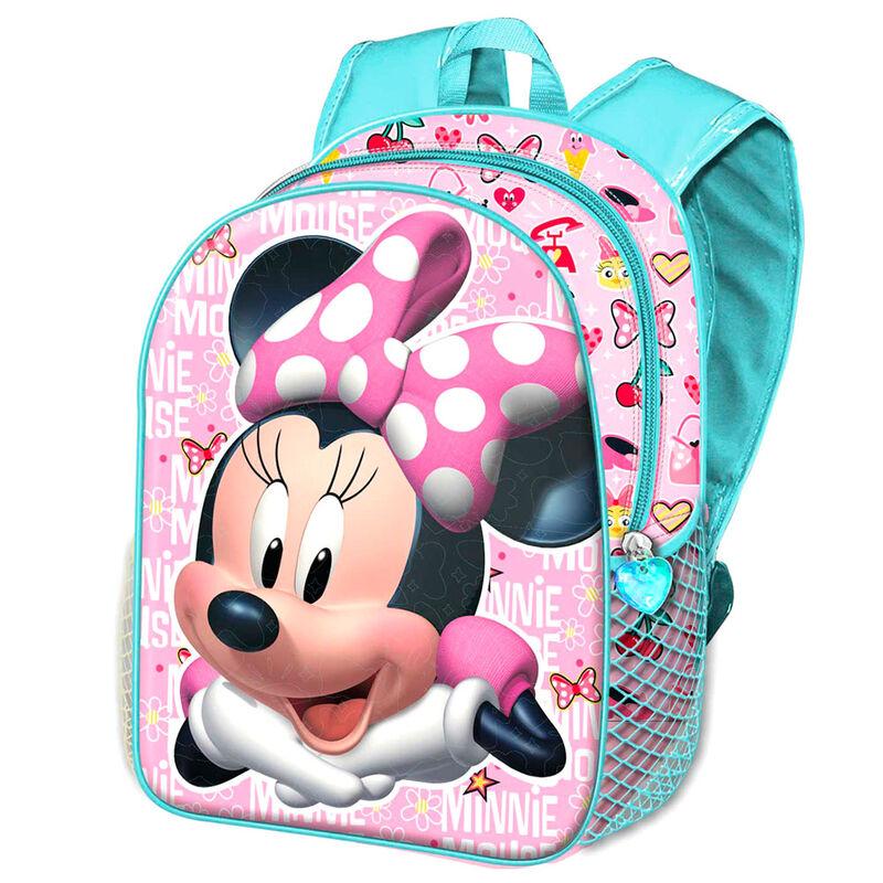 Mochila 3D Minnie Disney 31cm 8445118015867