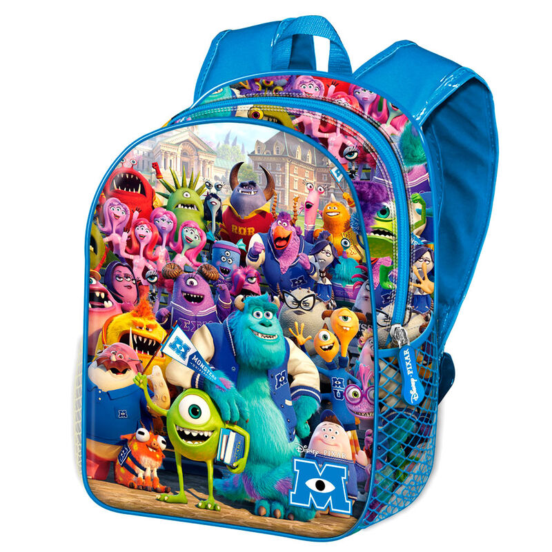 Mochila Monstruos S.A. University Disney Pixar 40cm