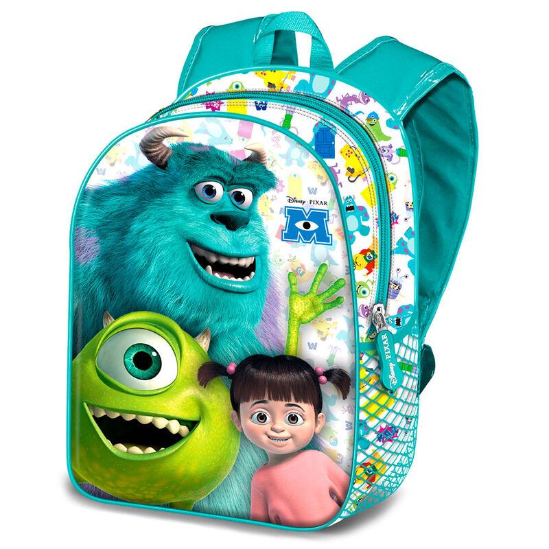 Mochila 3D 3D Monstruos S.A. Disney Pixar 31cm 8445118013757