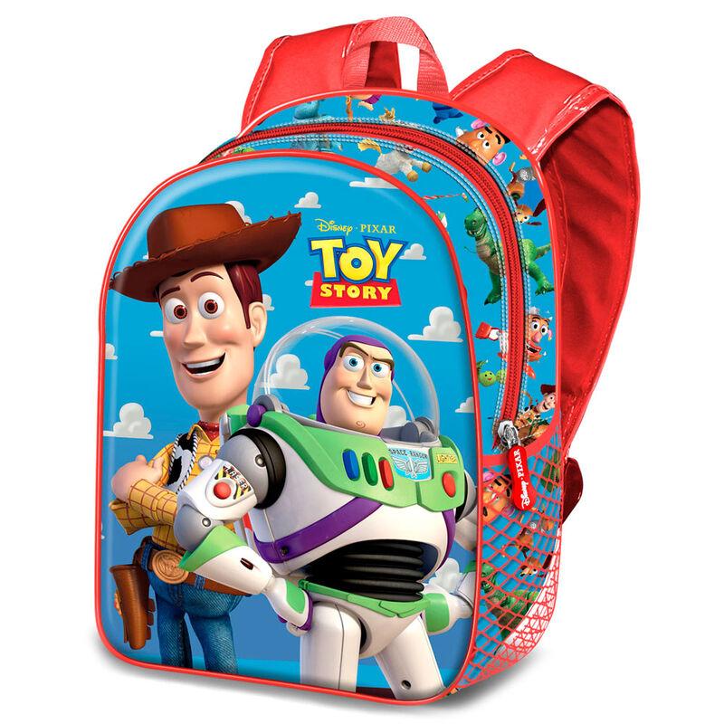 Mochila 3D Buzz and Woody Toy Story Disney 31cm 8445118013887