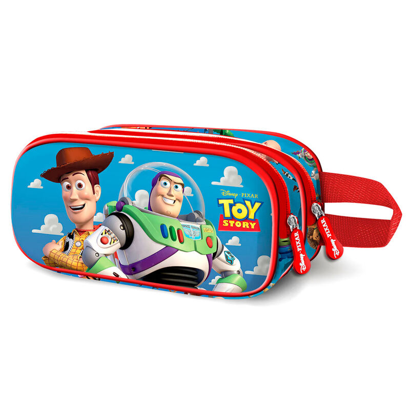 Portatodo 3D Buzz and Woody Toy Story Disney doble