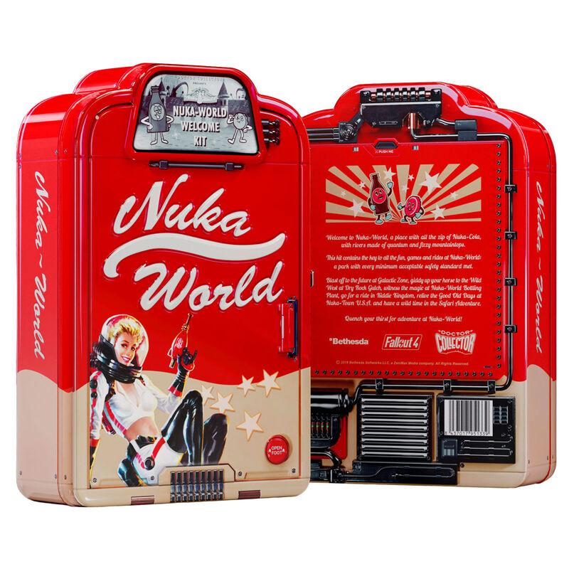 Kit Bienvenida Nuka World Fallout ingles 8437017951339