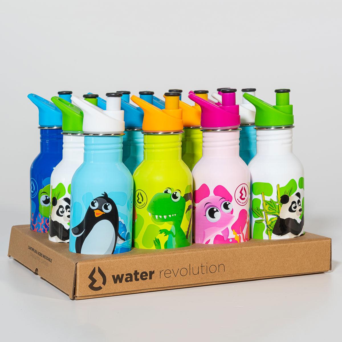 Botella Water Revolution 500ml surtido 8435607600506