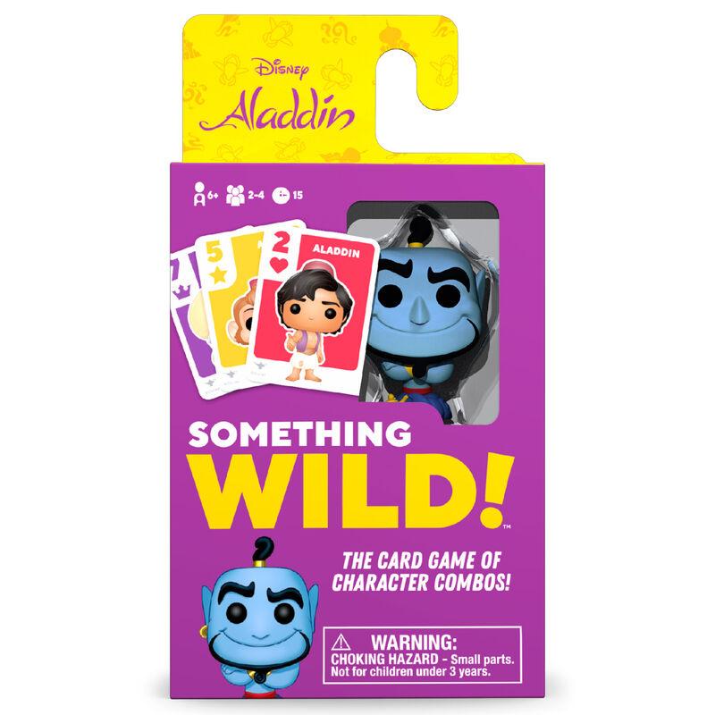 Caja 4 juegos cartas Something Wild! Aladdin Disney Aleman / Español / Italiano